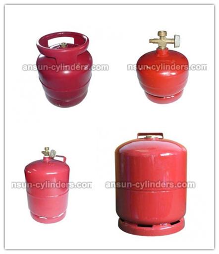 LPG Gas Cylinder&Steel Gas Cylinder (AS-LPG-3KGC)