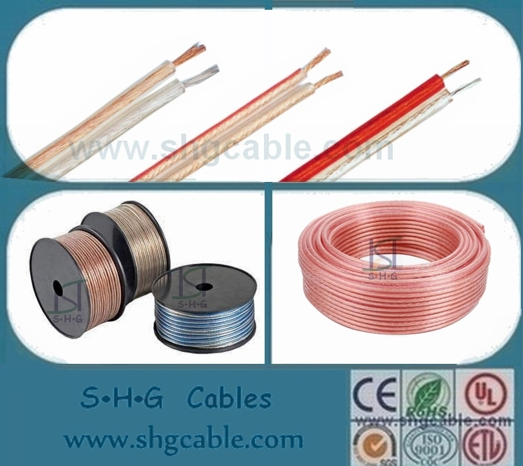 Clear Copper Speaker Cable (SPK-TR)