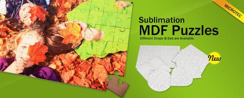 Sublimation Blank MDF Custom Puzzle