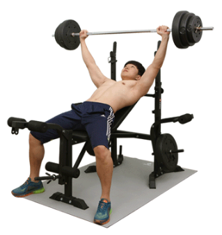 Home Euqipment Multifunction Weight Lifting Bench