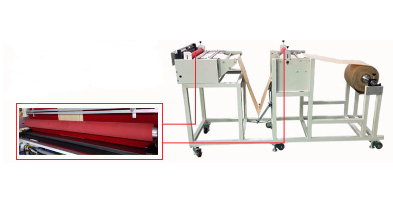 non woven roll to sheet cutting machine price