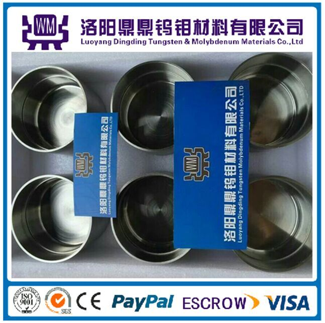 Best Price High Quality Customized Sintered Polished Pure Molybdenum Crucible/Crucibles or Tungsten Crucibles/Crucible for Metalizing