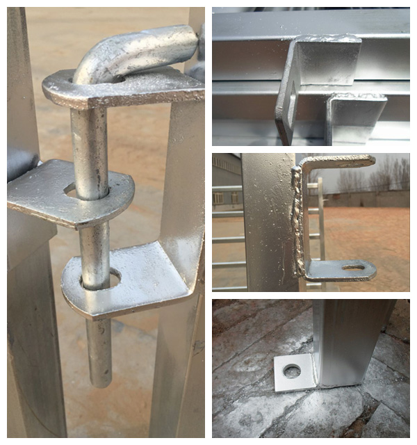 Australia Used Hot DIP Galvanized Cattle Yard Panel for Sale