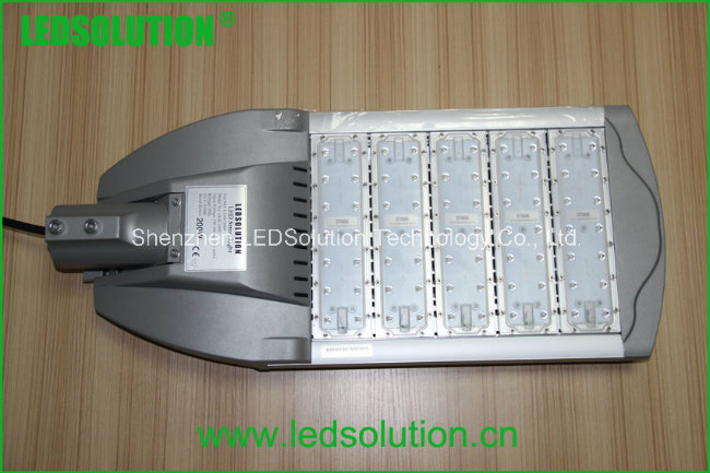 100W 200W Aluminum Outdoor LED Street Light for Public Lighting