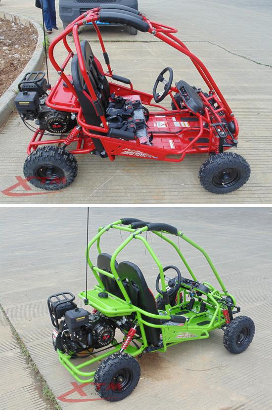 5.5HP 50cc/163cc Offroad Kids Gas Mini Buggy