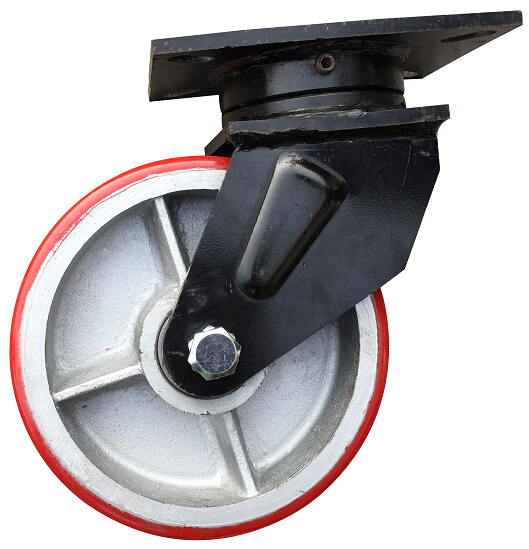 300mm Super Heavy Duty Rigid Caster, Industrial Caster