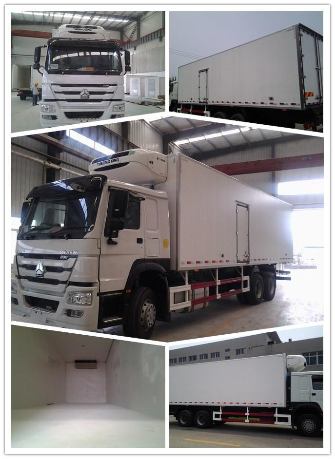 Sinotruk HOWO 6X4 371HP Refrigerated Truck Refrigerator Truck Freezer Truck