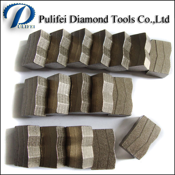 Good Fomula Hot Press Granite Cutting Teeth Stone Segment