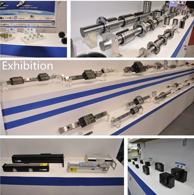 Linear Square Guide Rail and HGH25ca Block Bearing