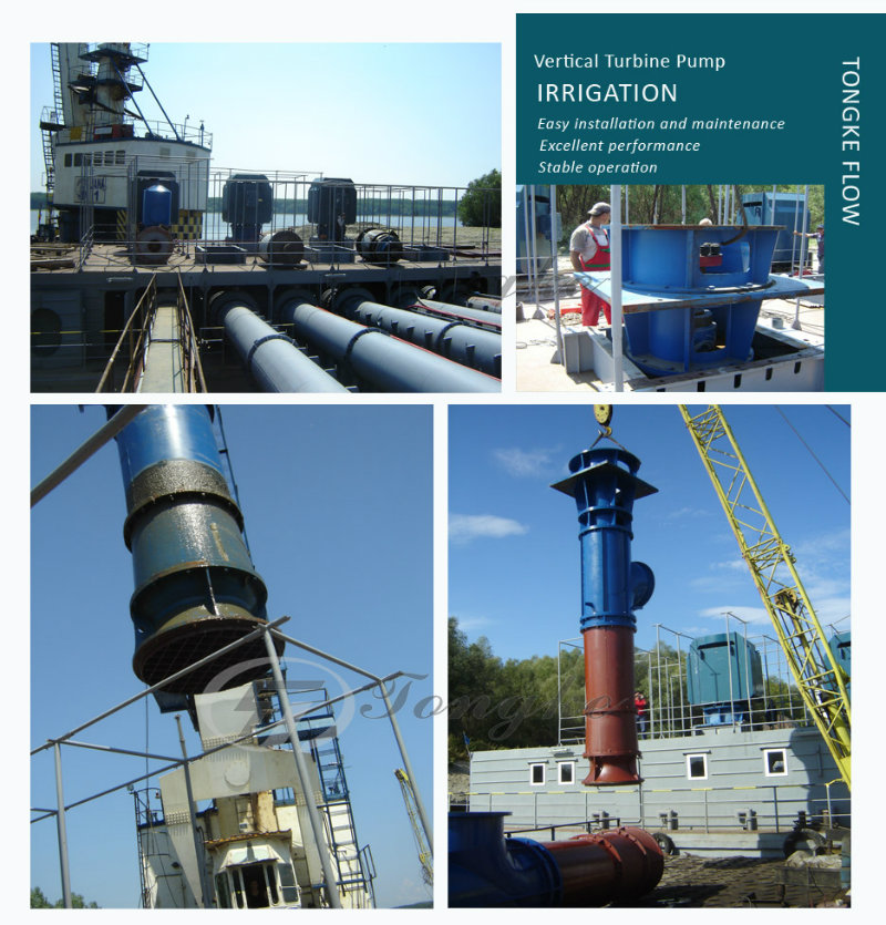 Vertical Multistage Bowl Suction Pump for Corrosive Liquid