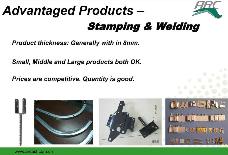 OEM Metal Stamped Sliding Rail for Drawer Use
