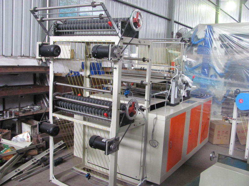 High-Speed Computer Control Double Lines Bag-Making Machine