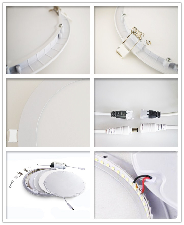 Mini LED Panel with 15W Square and Round
