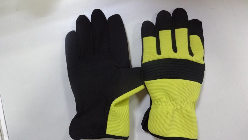 Work Glove-Safety Glove-artificial Leather Glove-Mechanic Glove-Labor Glove
