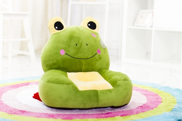 Plush Animal Frog Sofa Chair Cheap Kids Sofa Plush Baby