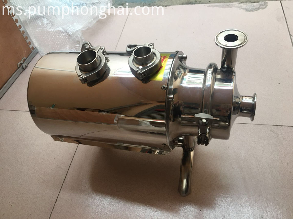 grade sanitary centrifugal pump milk transfer pump