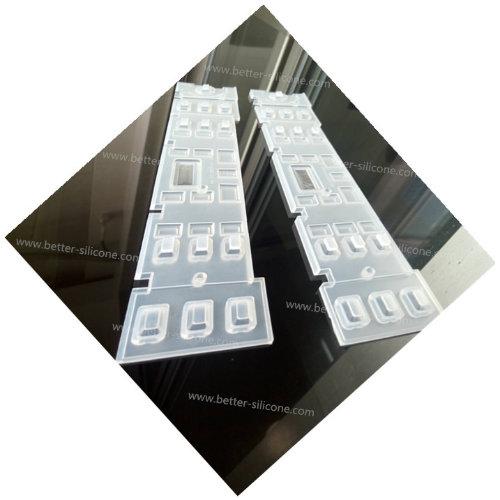Custom Clear Dustproof Silicone Keypad Cover