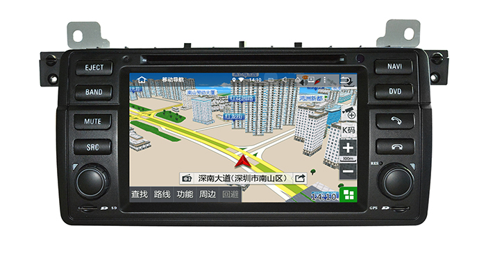 2016 Cheapest Factory Hl 8788 Navi with GPS All Function Android 5.11 7'' DVD Player for BMW 3 Series/M3