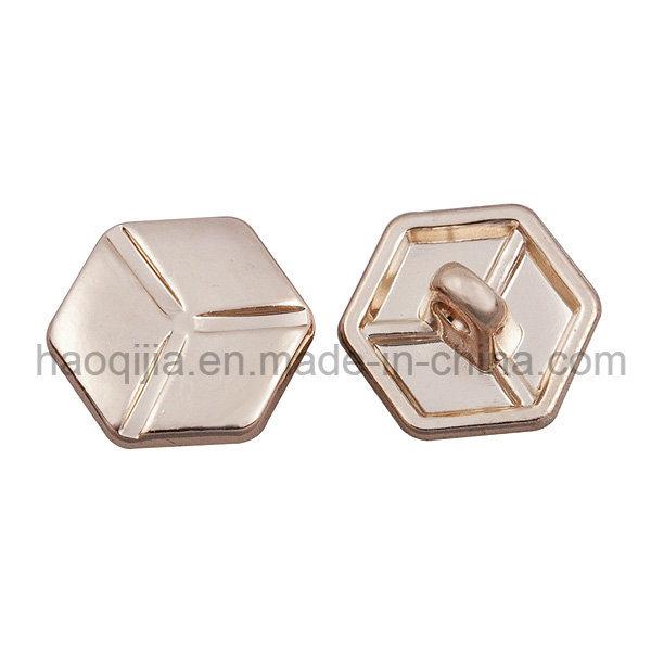 Rhombus Metal Button for Garment