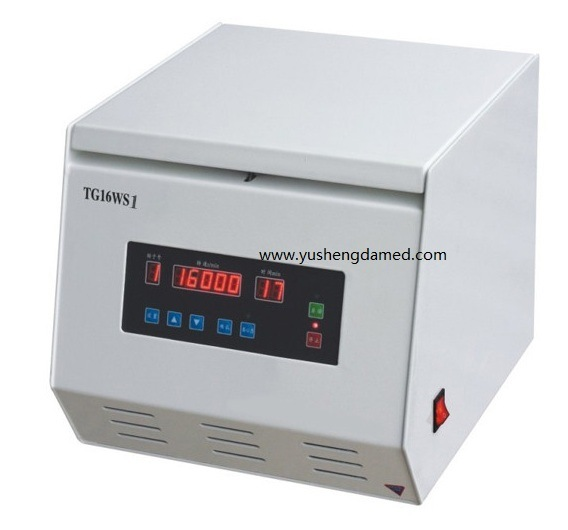 High Quality Laboratory Machine Benchtop High Speed Centrifuge Tg16-Ws1