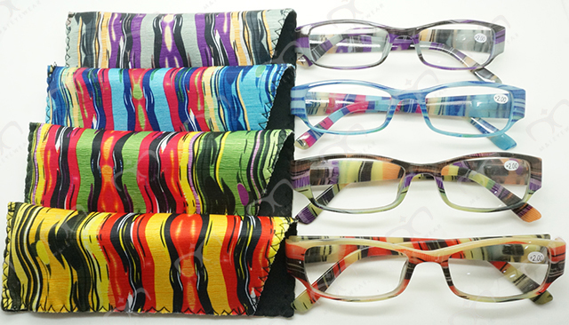 Ladies Fashion Plastic Eyewear Reading Glasses (MRP21677)