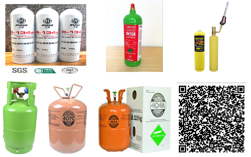 Competitive Price 30 Lb Refrigerant Gas R134A for Sale