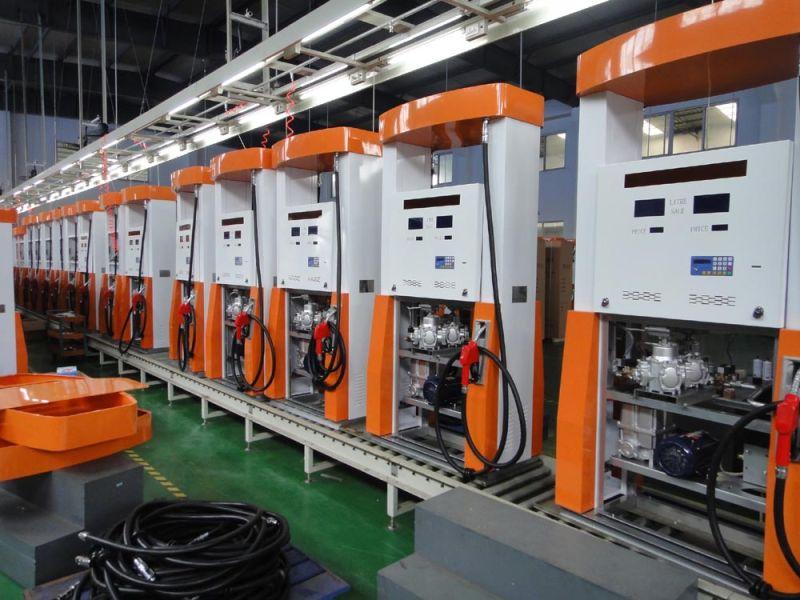 Stable Filling Station Fuel Dispenser