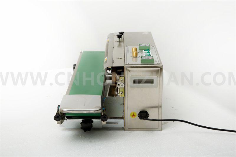 CBS980 Automatic Aluminum Foil Plastic Bag Band Sealing Machine with Date Printer