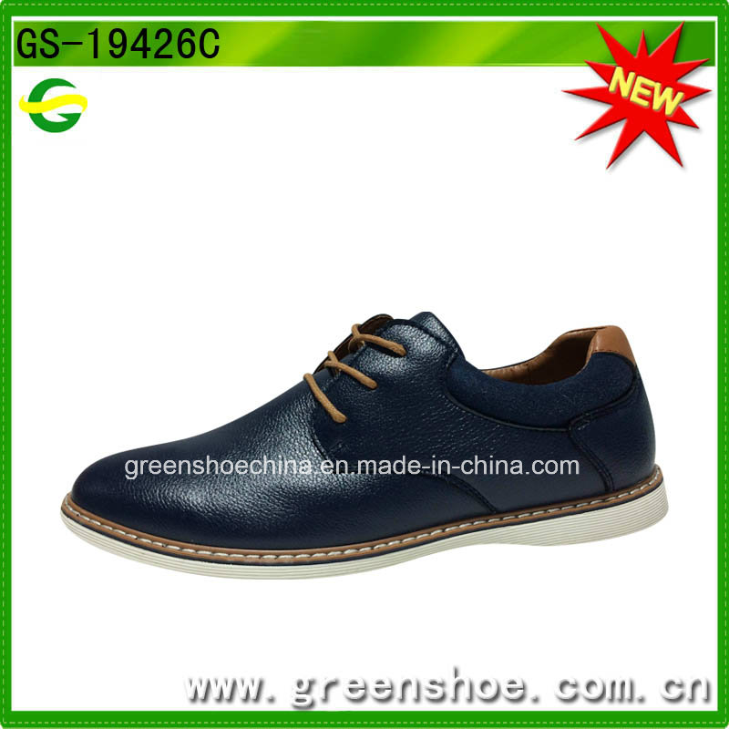 China Factory British Style Elegant Men Oxford Shoes