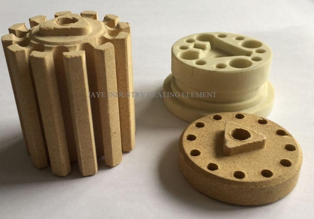 Industrial Electrothermal Cordierite Ceramic Transformer Bobbin Insulator