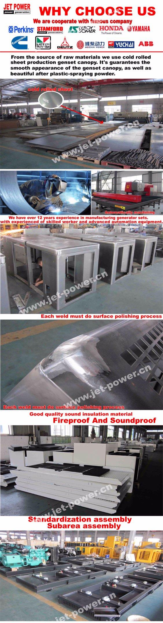 Yangdong Diesel Engine 380V 10kw Generator Diesel