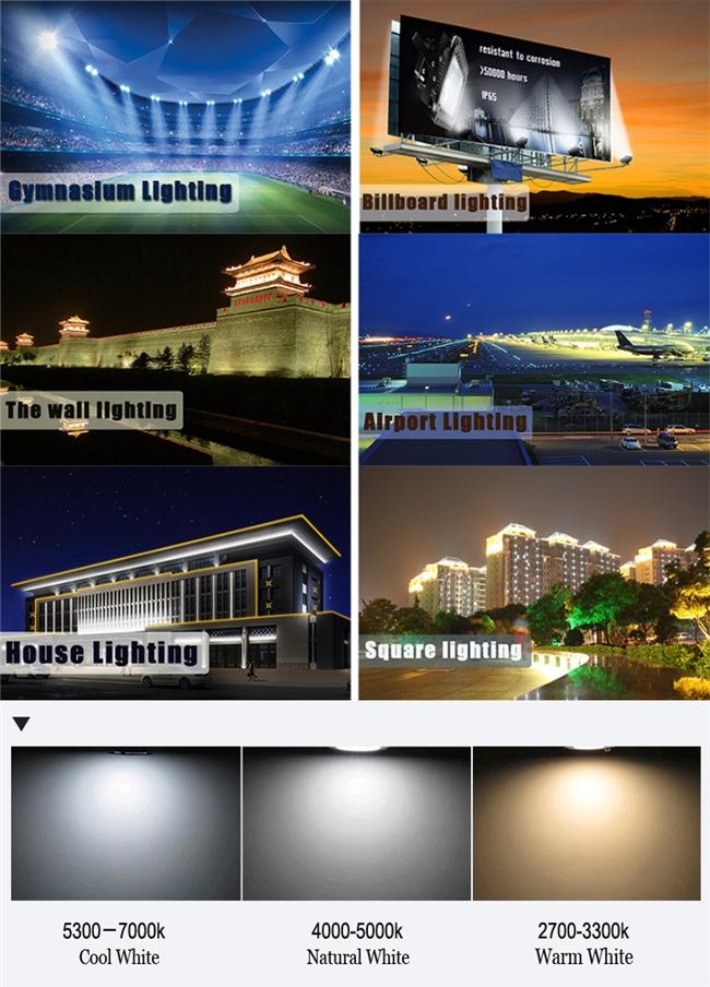 High Lumen New Design Waterproof LED Flood Light Housing 20W