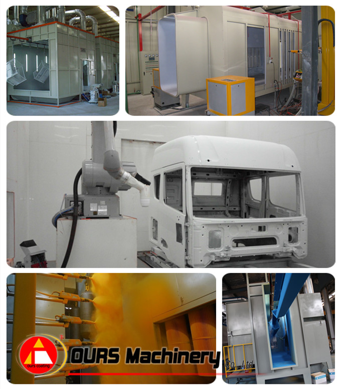 Transformer Powder Coating Line