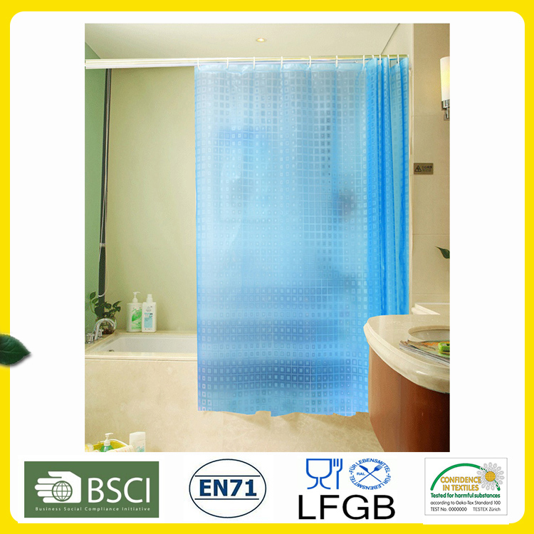 PVC, EVA Shower Curtain