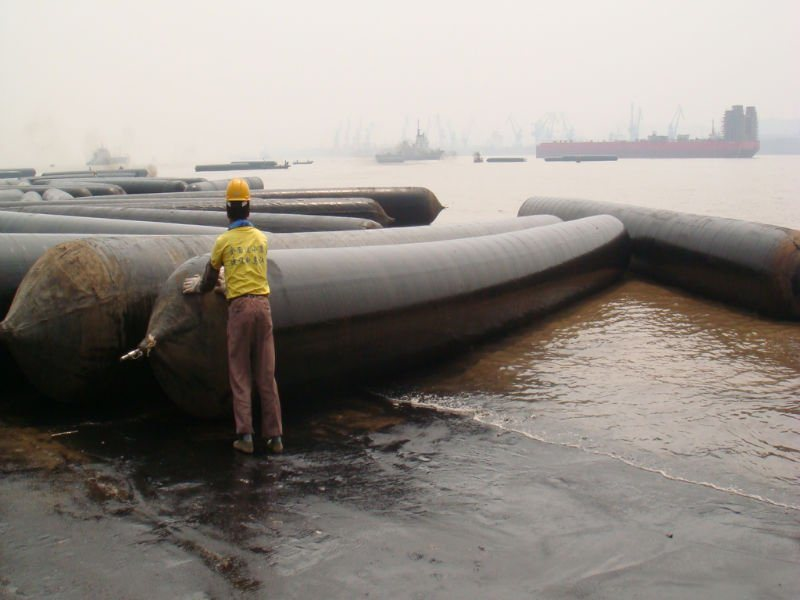 Roller Launching Barge Air Bags for Ship Launching