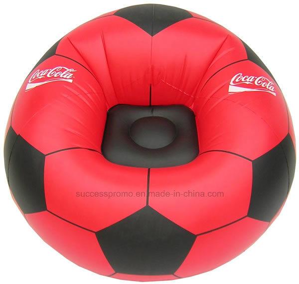 Inflatable Air Sofa PVC Flocked Armchair for Kids