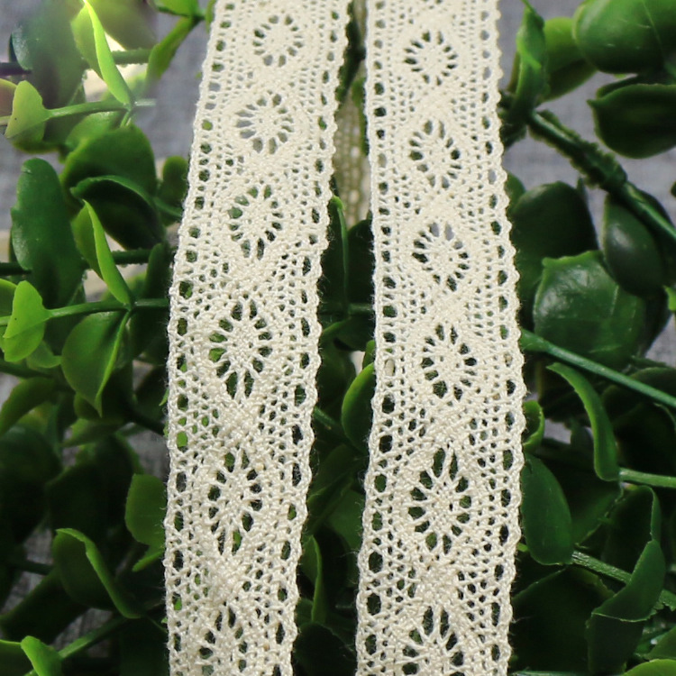 French Knitted Trimming Cotton Crochet Chemical Lace