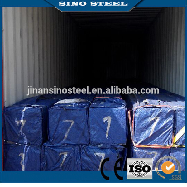 Hot Dipped Zinc Coating Galvanized Steel Tube for Building