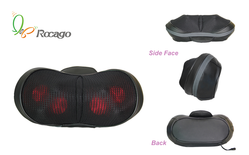 Mini Silicone Massage Cushion Pillow for Home Car Use