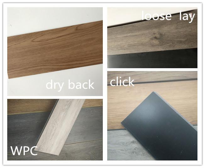 New Product 1532*236*2.5mm Glue Down/Dry Back PVC Vinyl Floor