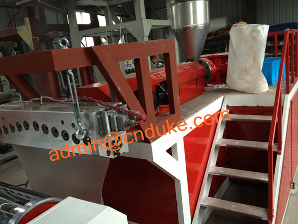 PVC Stretch Cling Film Making Machine (SLW700)