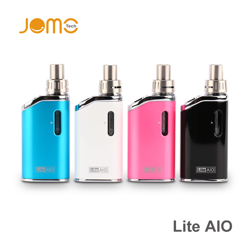 2016 Newest EGO Lite Aio Jomo All in One Style Ecig Mod Lite Aio 20W/30W/40W Adjustable Wattage VW Box Mod with Child Proof