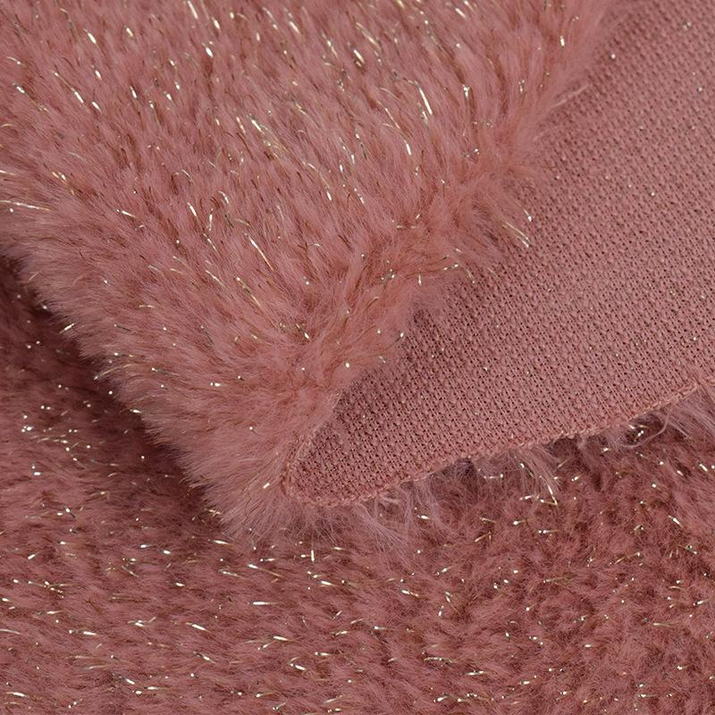 Baby Blanket Artificial Rabbit Fleece Fabrics