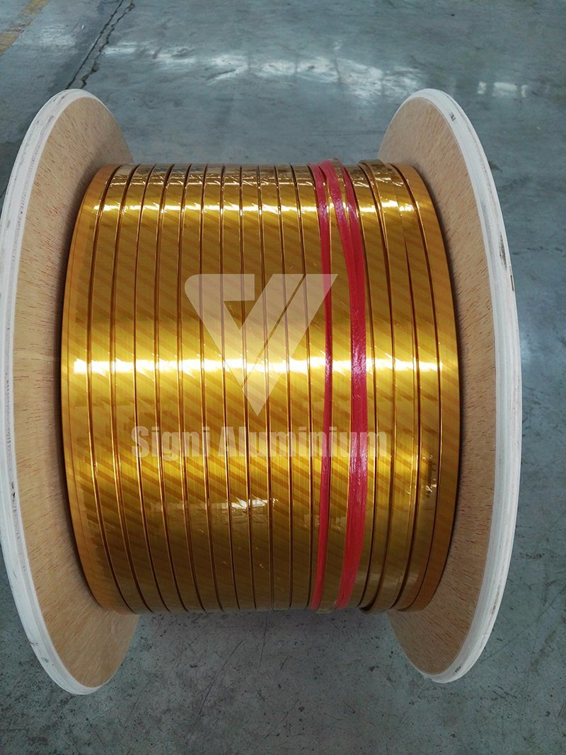 200/220 Grade Polyesterimide Aluminium Round/Flat Enameled Wire