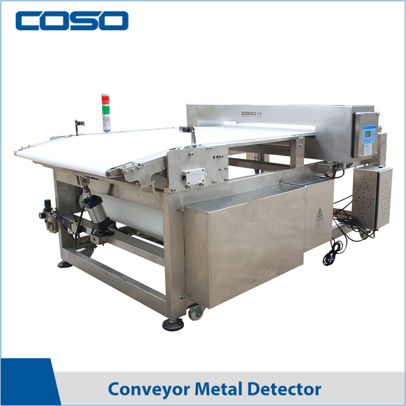 Waterproof Standard Chain Conveyor Metal Detector for Food