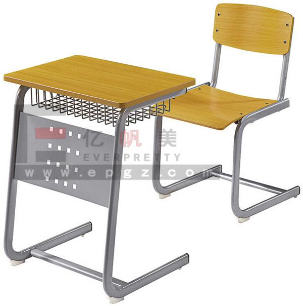 Cheap High School Furniture Single Desk & Chair