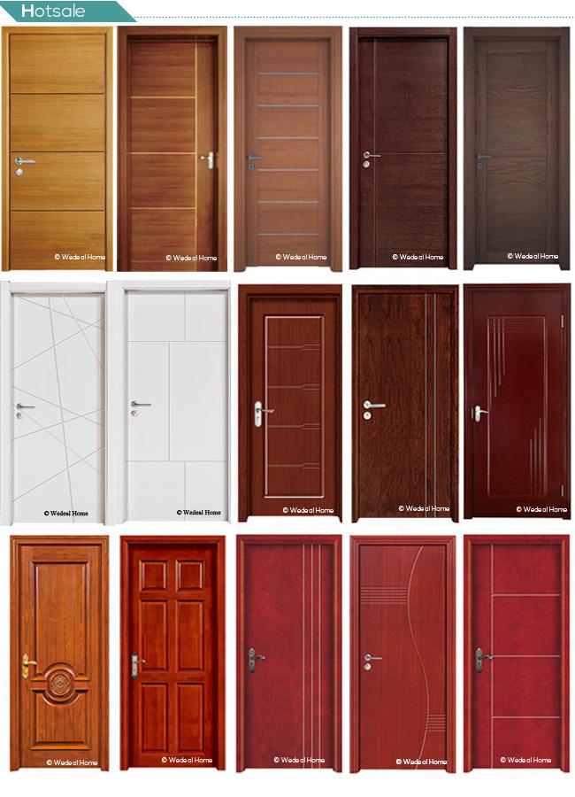 Solid Wooden Door for Interior Room with New Design (WDP2039)