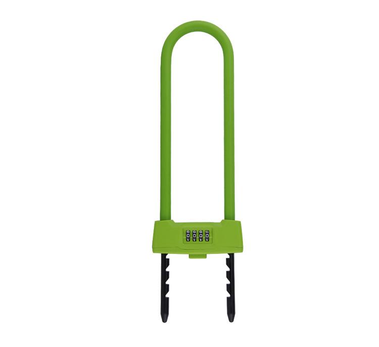 Yf12601 U-Shape Combination Lock for Door, Bicycle, Motorbike