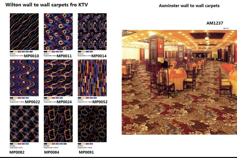 Wilton Wall to Wall PP Carpets for KTV