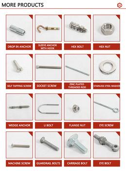 High Quality Stainless Steel Rivet Nut / Zinc-Plated Hexagon Body Rivet Nut